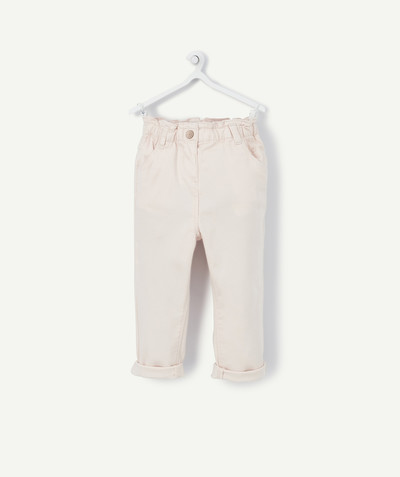 Pantalon Rayon - le pantalon chino rose clair