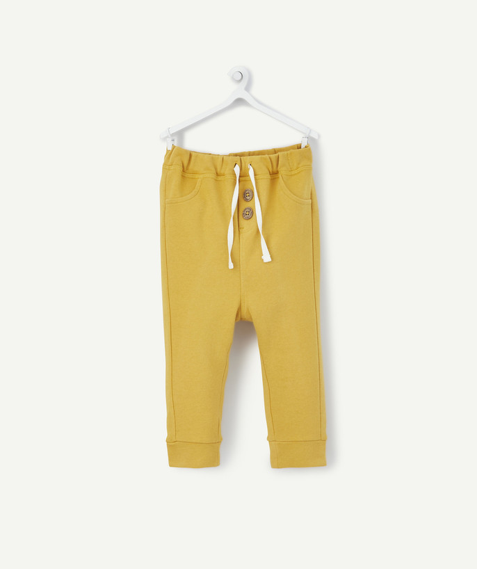 All collection radius - MUSTARD JOGGING PANTS