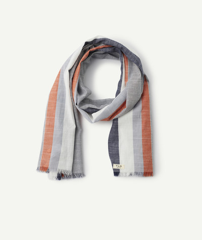 Outlet radius - STRIPED AND COLOURED SCARF