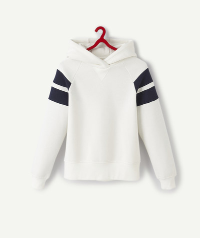 Sweat Rayon - LE SWEAT À CAPUCHE BLANC