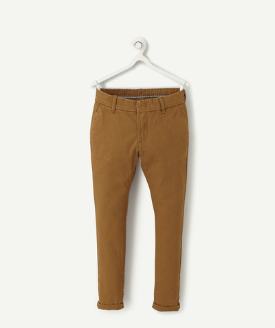 Toute la collection Rayon - LE PANTALON CHINO CAMEL