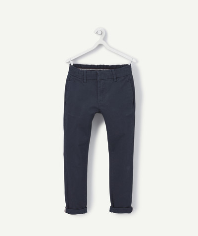 Trousers - Jogging pants radius - NAVY BLUE CHINO TROUSERS