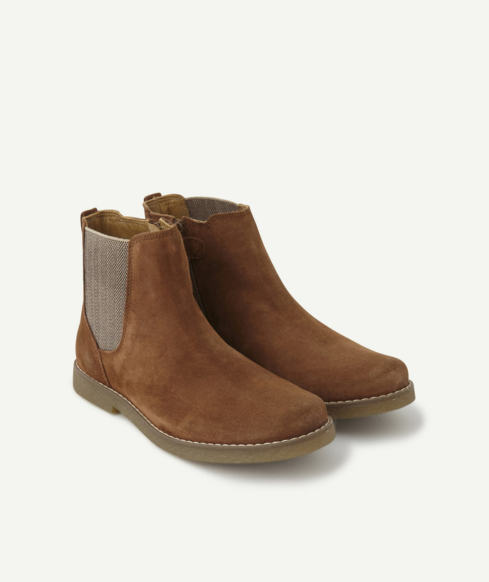 Shoes, booties radius - CAMEL SUEDE BOOTS