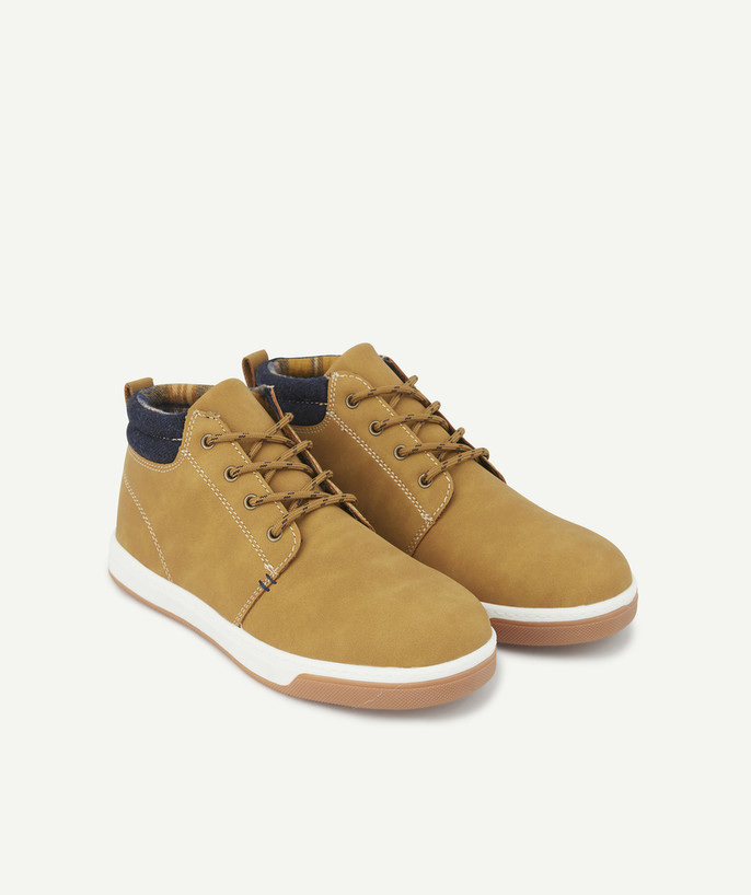Shoes, booties radius - SMART SHOES IN MUSTARD FAUX SEUDE