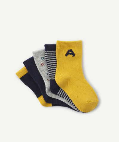 Accessories radius - FIVE PAIRS OF ALPHABET SOCKS