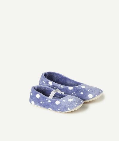 Chaussures, chaussons Rayon - LES CHAUSSONS BLEUS PHOSPHORESCENTS