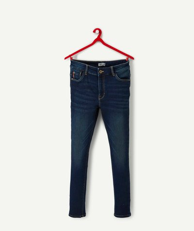 Trousers - Jeans radius - HIGH-WAISTED SKINNY RAW DENIM JEANS