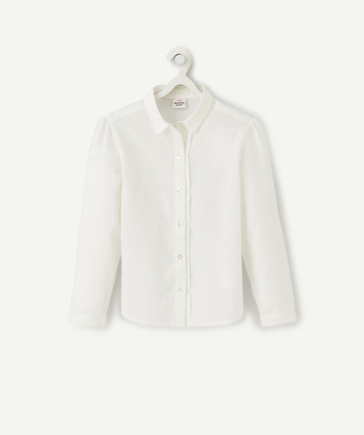 Shirt - Blouse radius - WHITE SHIRT IN COTTON