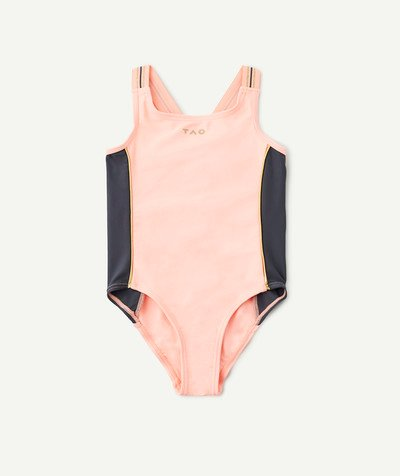 Outlet radius - ONE-PIECE TWO TONE SWIMSUIT