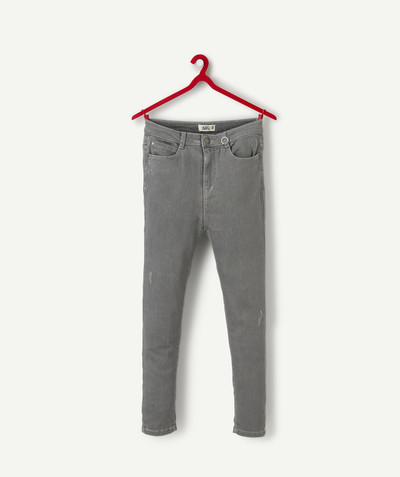 Toute la collection Rayon - LE PANTALON SKINNY GRIS EN MAILLE DENIM