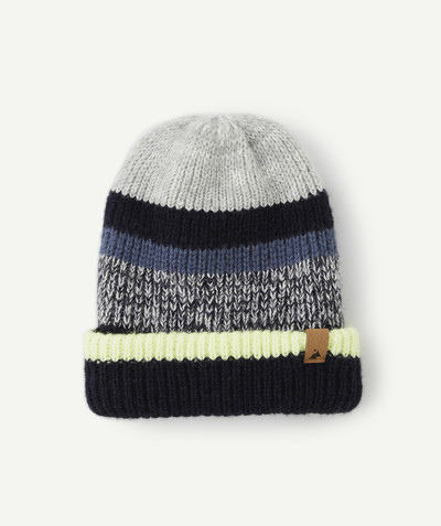 Accessories radius - STRIPED KNITTED HAT