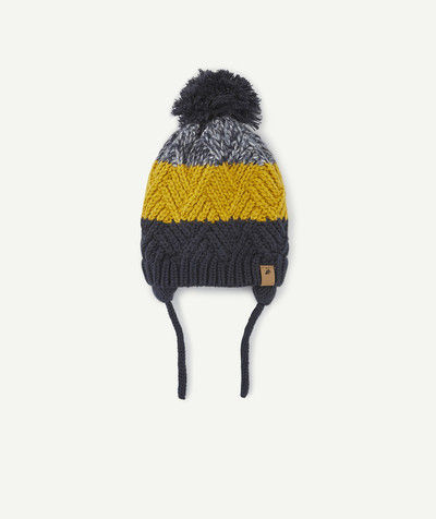 Accessories radius - NAVY BLUE AND YELLOW HAT