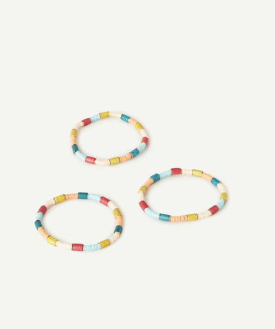 Toute la collection Rayon - LE LOT DE 3 BRACELETS COLORÉS
