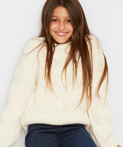 Knitwear radius - CREAM KNITTED JUMPER