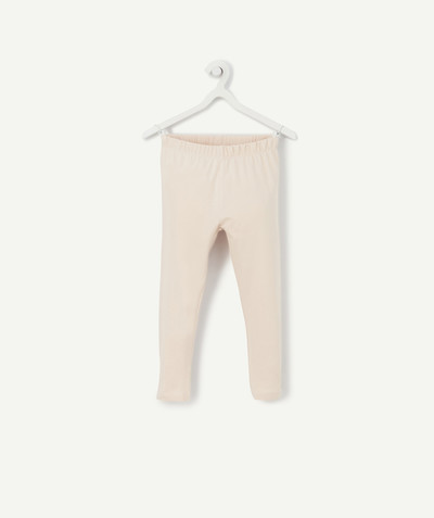Pantalon - jogging Rayon - LE LEGGING COURT ROSE PÂLE
