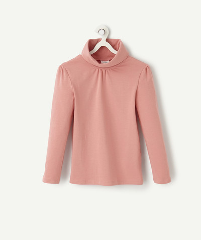 Basics radius - PALE PINK TURTLENECK