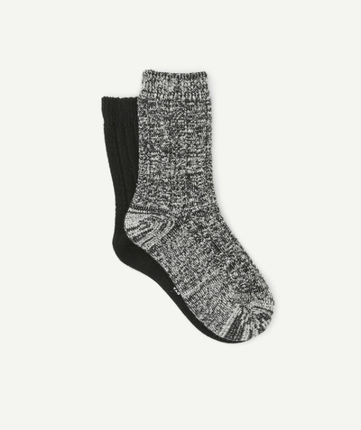 Acessories radius - TWO PAIRS OF SOCKS IN A BEAUTIFULLY SOFT KNIT