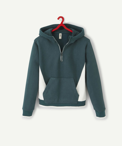 Teen Boy radius - COLOUR BLOCK HOODED SWEATSHIRT
