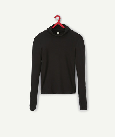 All collection Sub radius in - BLACK ROLLNECK