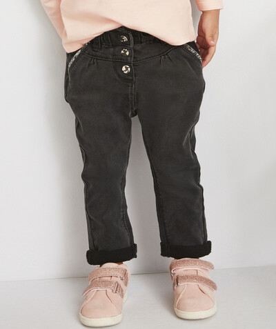Toute la collection Rayon - LE PANTALON CHINO EN DENIM NOIR