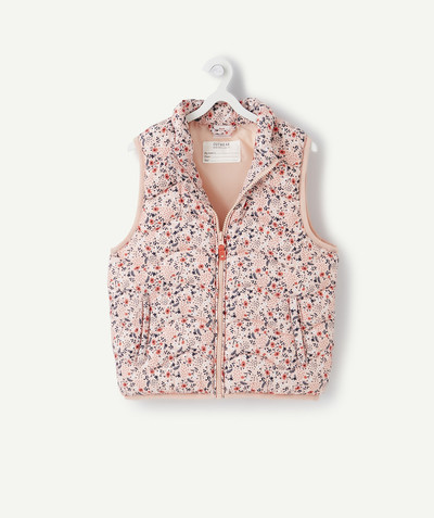 Nouvelle collection Rayon - LA DOUDOUNE SANS MANCHES ROSE AU REMBOURRAGE RECYCLÉ