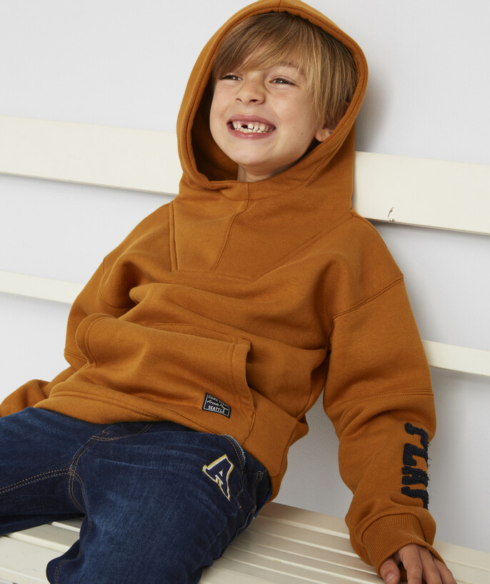Sweat Rayon - LE SWEAT CAMEL À CAPUCHE