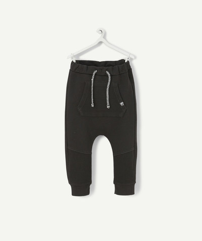 All collection radius - BLACK HAREM PANTS