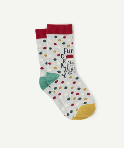 Acessories radius - SPOTTED SOCKS IN ORGANIC COTTON