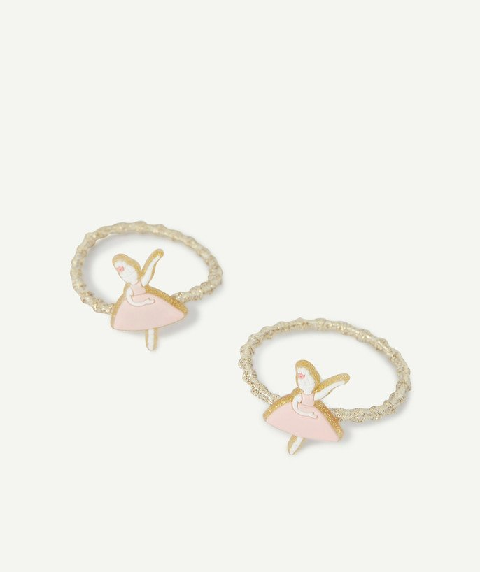 Baby-girl radius - TWO DANCER HAIR ELASTICS