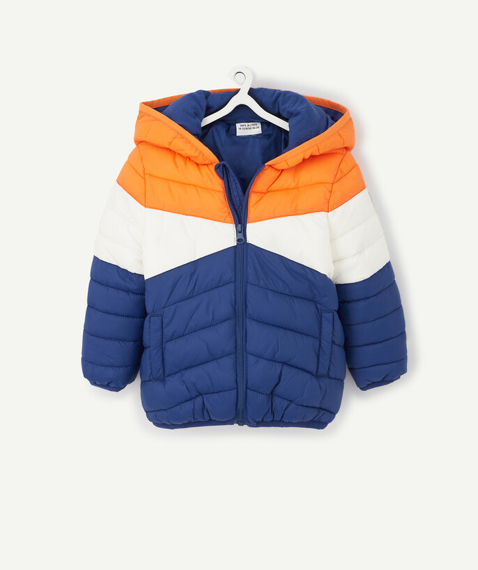 Coat - Padded Jacket - Jacket radius - COLOUR BLOCK WATER-REPELLENT JACKET