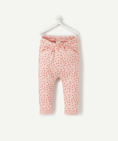Nouvelle collection Rayon - LE PANTALON DE JOGGING ROSE IMPRIMÉ
