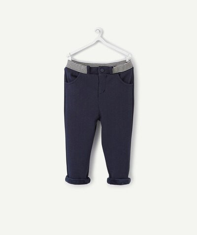 All collection radius - LINED TROUSERS IN COTTON PIQUE