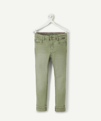 Trousers - Jogging pants radius - KHAKI SKINNY TROUSERS