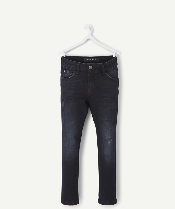 Basics radius - STRAIGHT DARK BLUE JEANS