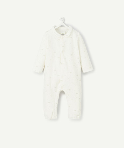 My first wardrobe radius - WHITE JUMPSUIT IN ORGANIC COTTON