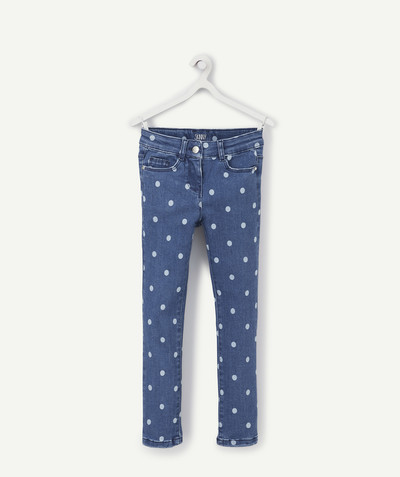 Jeans radius - SKINNY STONEWASHED TROUSERS WITH FANCY SPOTS