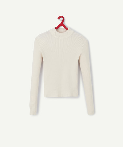 Knitwear radius - CREAM KNIT JUMPER