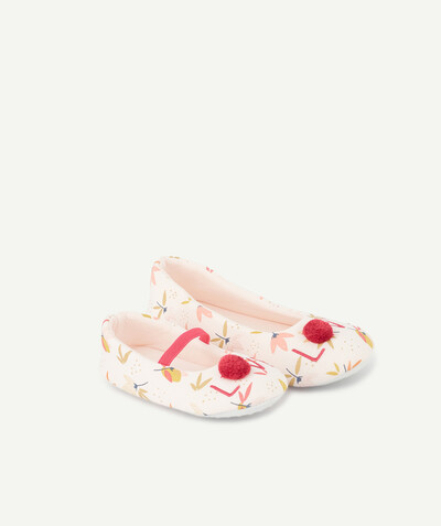Nightwear radius - PINK PRINTED SLIPPERS