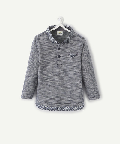 Shirt and polo radius - POLO SHIRT IN COTTON WITH PRINTED FABRIC
