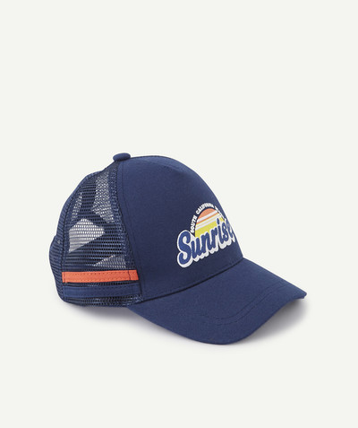 All collection radius - NAVY BLUE CAP