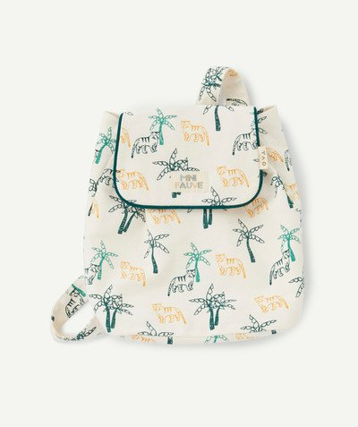 All collection radius - SUPPLE BEIGE PRINTED BACKPACK