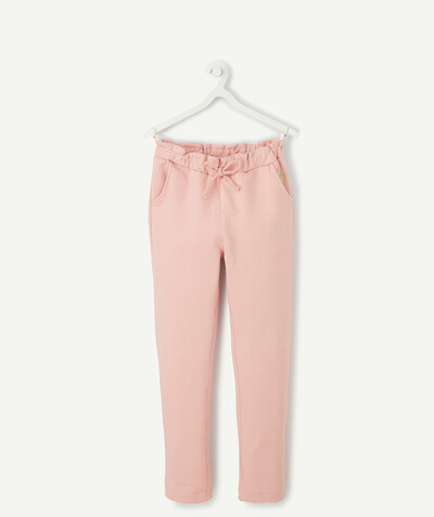 Toute la collection Rayon - LE PANTALON DE JOGGING EN MOLLETON ROSE
