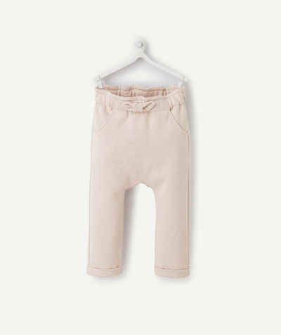 Nouvelle collection Rayon - LE PANTALON DE JOGGING ROSE À PAILLETTES