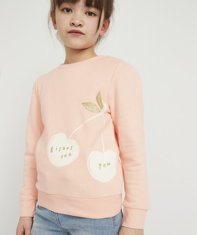 ECODESIGN radius - PASTEL SWEATSHIRT IN ORGANIC COTTON