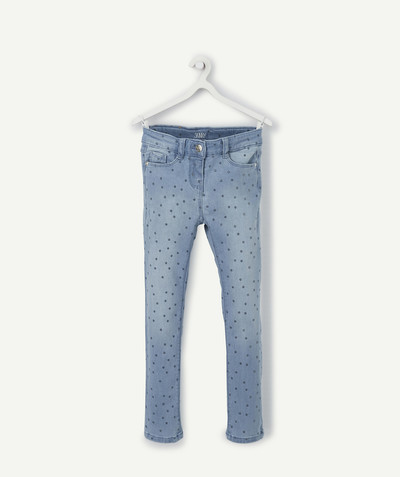 Jeans radius - SKINNY STONEWASHED JEANS WITH SPARKLING SPOTS