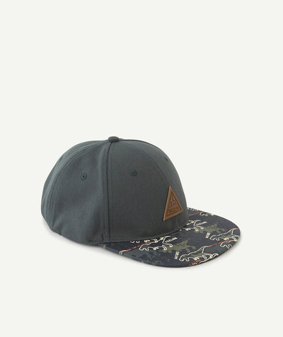 Accessories radius - CAP WITH DINOSAURS ON THE VISOR
