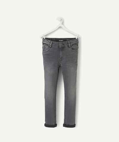 Collection ECODESIGN Rayon - LE JEAN SKINNY STRETCH GRIS