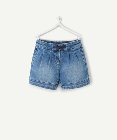 Collection ECODESIGN Rayon - LE SHORT BOULE EN JEAN
