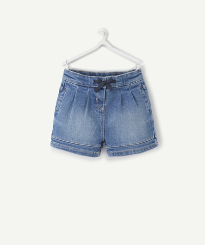 ECODESIGN radius - BUBBLE SHORTS IN DENIM