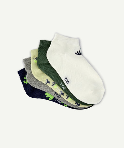 Accessories radius - FIVE PAIRS OF SOCKS WITH A CACTUS DESIGN